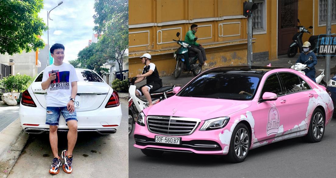 Ca sĩ Tuấn Hưng, MC Trấn Thành đồng loạt bán Mercedes-Benz S450 L