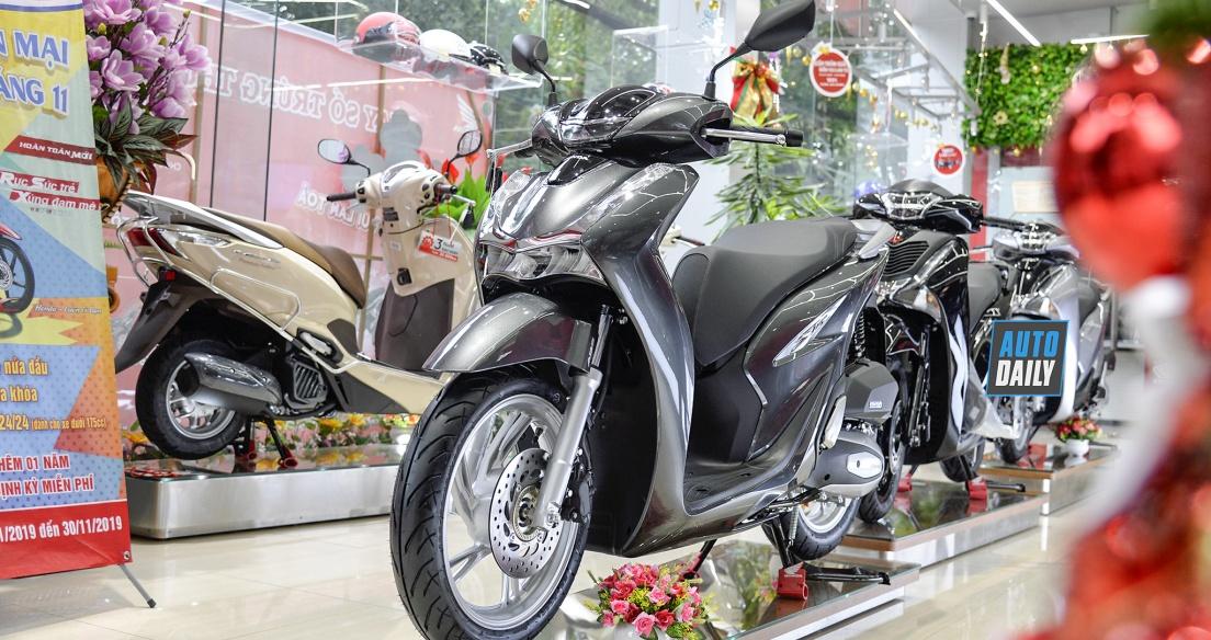 Năm 2020: Hơn 2,1 triệu xe máy Honda được giao đến tay người dùng Việt