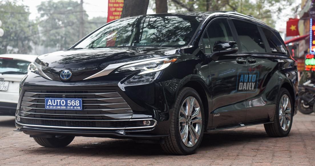 Chi tiết Toyota Sienna 2021 nhập Mỹ giá hơn 4 tỷ tại Việt Nam