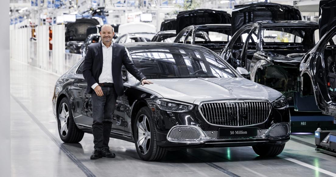 Chiếc Mercedes thứ 50 triệu xuất xưởng là Maybach S-Class