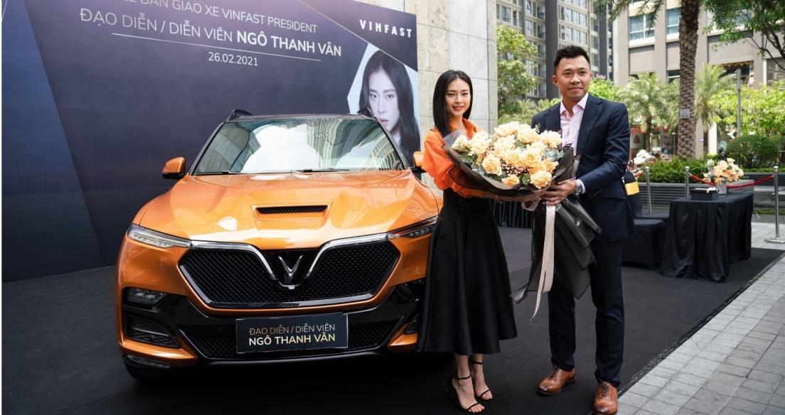 Ngô Thanh Vân tậu VinFast President nhân dịp sinh nhật