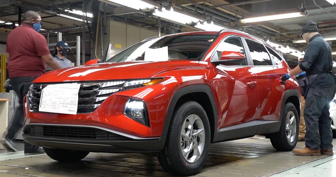 Khám phá dây chuyền sản xuất Hyundai Tucson 2022 - Mẫu crossover rất được mong đợi tại Việt Nam