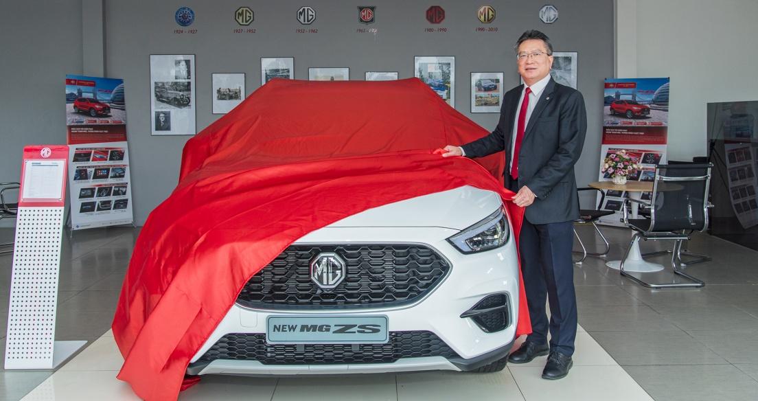 MG ZS 2021 thêm phiên bản STD+ giá 519 triệu, nhập khẩu từ Thái Lan