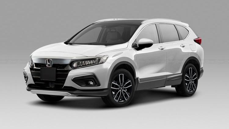 Ảnh phác họa thiết kế Honda CR-V 2023: Bắt mắt hơn, quyết đấu CX-5