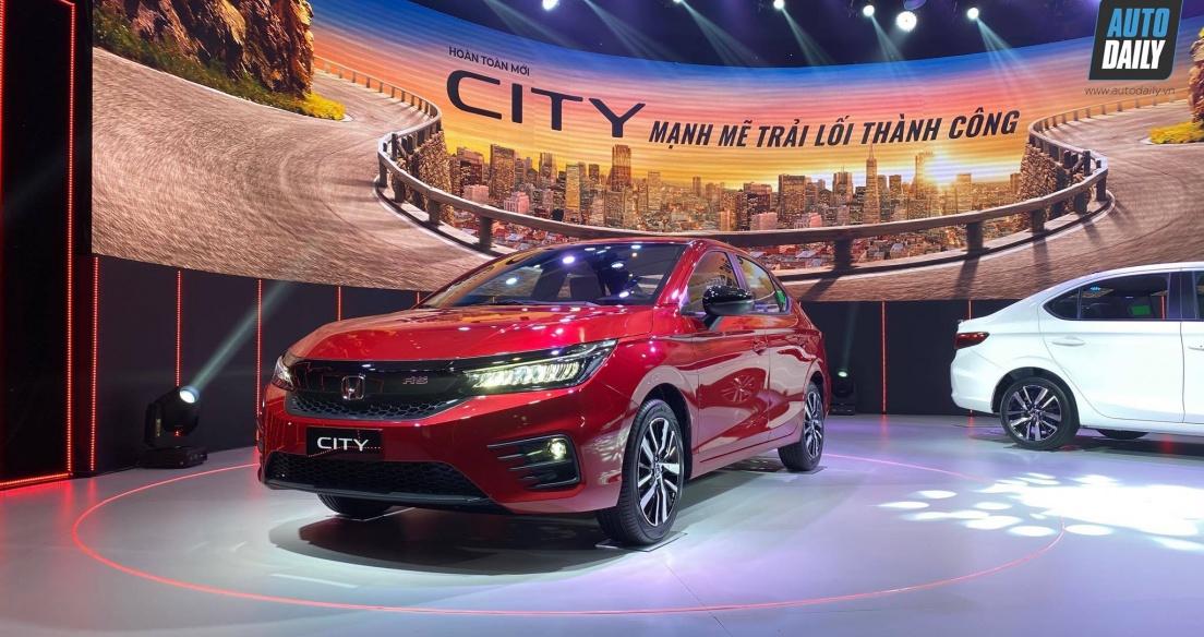 Tháng 2/2021: Honda City tiếp tục là xe bán chạy nhất của HVN