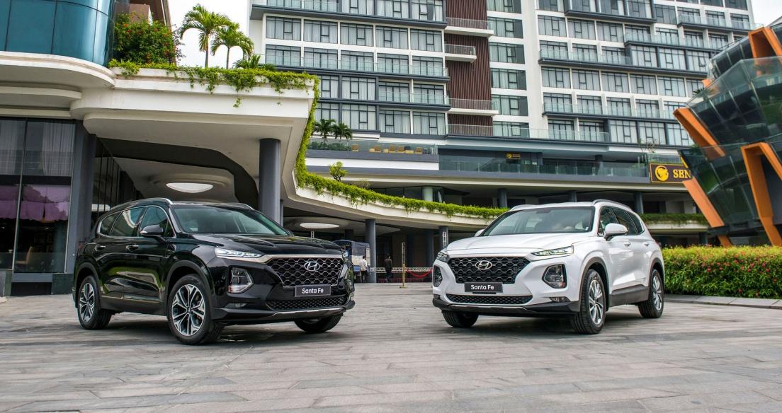 Phân khúc SUV 7 chỗ tháng 2/2021: Hyundai Santa Fe giành lại ngôi đầu