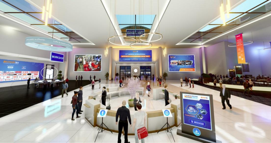 Triển lãm Autotech & Accessories 2021 sắp diễn ra với hơn 300 gian hàng