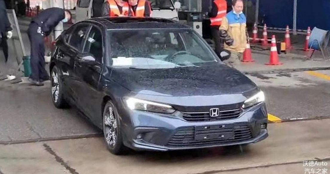 Honda Civic 2022 tiếp lục lộ ảnh không nguỵ trang