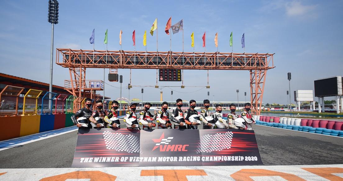 Tổng kết Giải đua xe Mô tô Việt Nam 2020: Vượt khó thành công