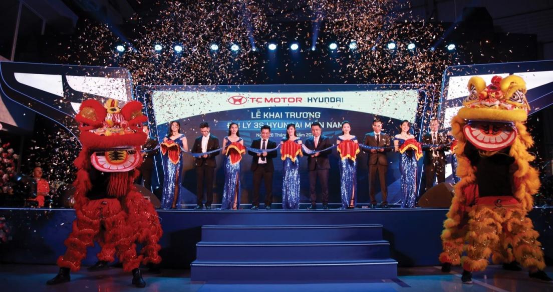 Đại lý 3S Hyundai Miền Nam chính thức khai trương