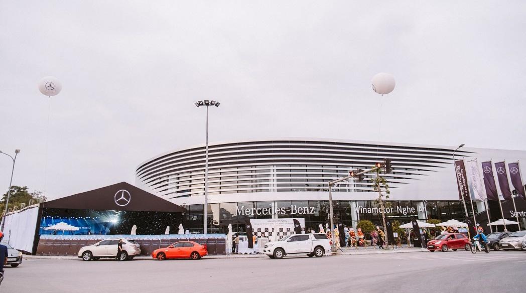 Mercedes-Benz mở rộng thị trường tại khu vực Bắc Trung Bộ