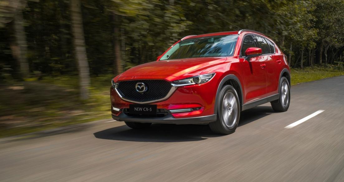 Tháng 3/2021: Mazda CX-5 vẫn dẫn đầu