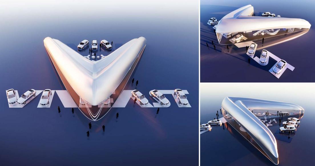 9 thiết kế showroom VinFast toàn cầu xuất sắc nhất