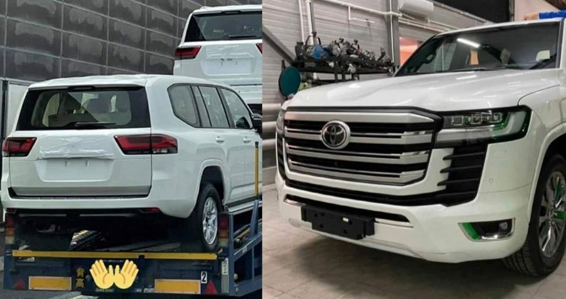 Toyota Land Cruiser 2022 cực hầm hố trong những hình ảnh mới nhất