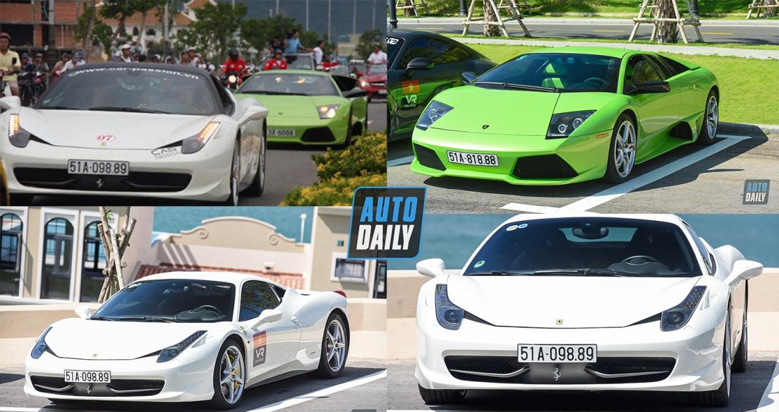 Cặp đôi siêu xe tham dự VietRally tròn 10 năm sau Car & Passion 2011