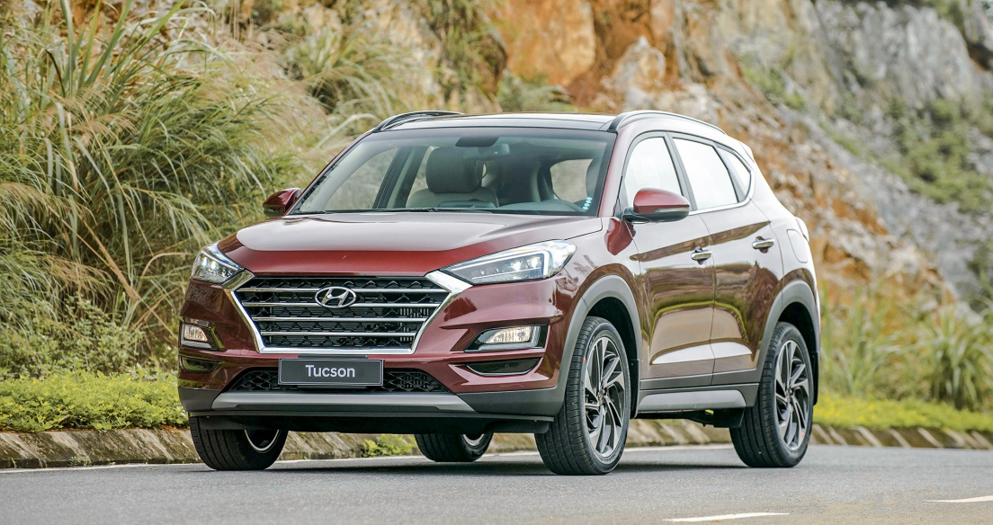 Tháng 4/2021: Hyundai Tucson và Mazda CX-5 tạo cuộc đua song mã