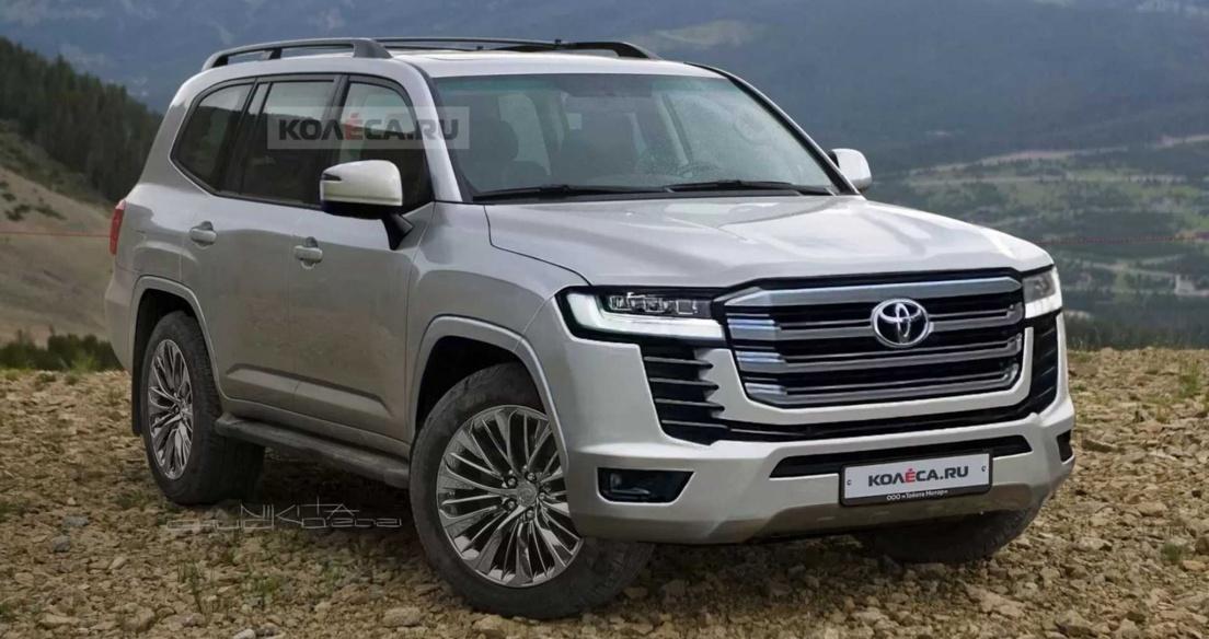 Toyota Land Cruiser 2022 sẽ dùng hộp số 10 cấp, nền tảng TNGA-F