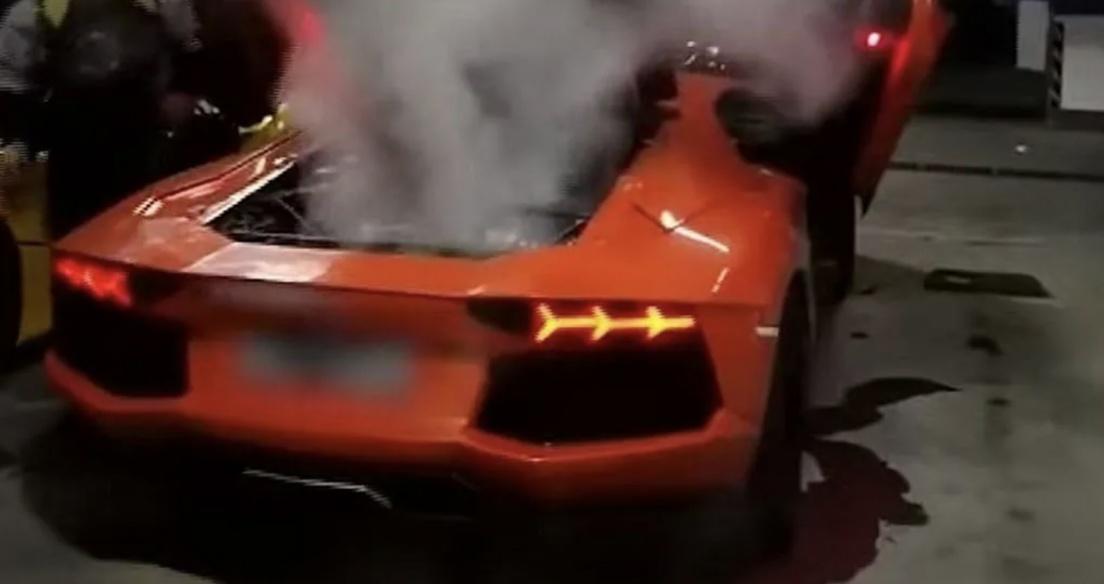 Video: Thanh niên Trung Quốc nướng thịt bằng Lamborghini Aventador và cái kết thảm họa