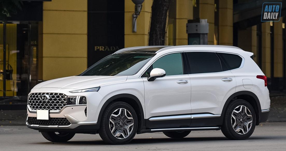 Tháng 5/2021: Phiên bản mới ra mắt, doanh số Hyundai Santa Fe tăng mạnh