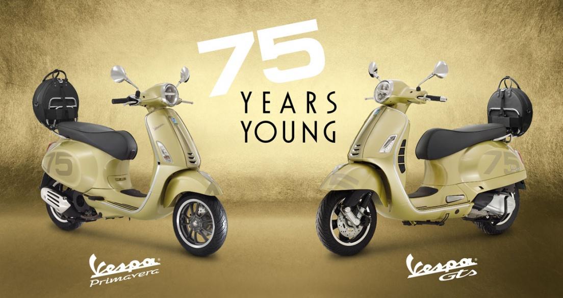 Ra mắt Vespa Primavera và GTS bản đặc biệt kỉ niệm 75 năm