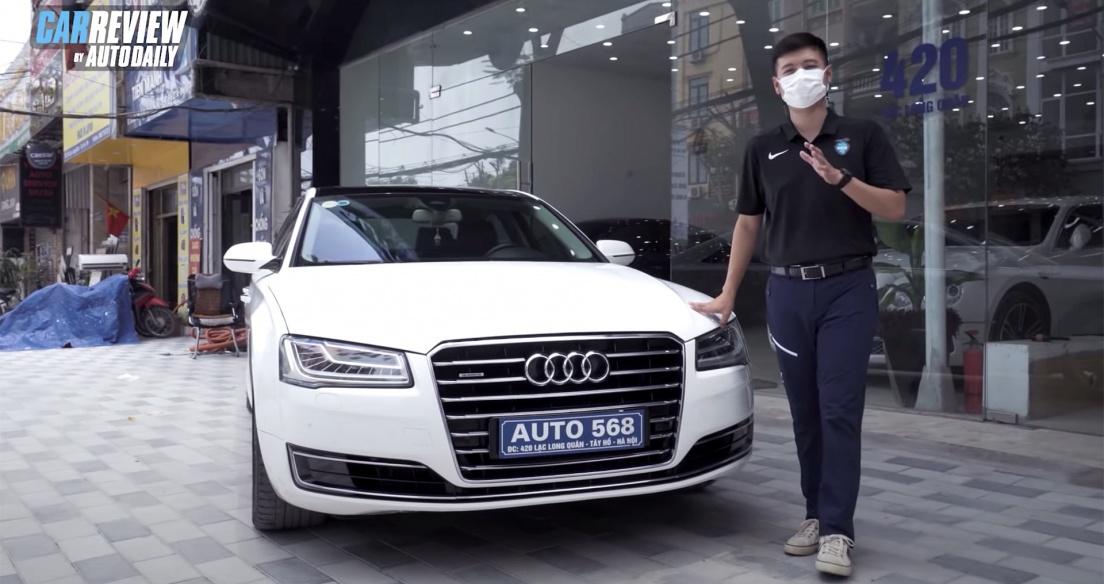 Trải nghiệm chi tiết Audi A8L 2014 giá 2,8 tỷ đồng