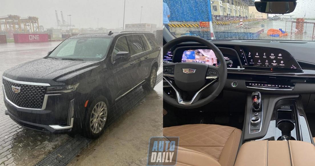 Cadillac Escalade 2021 bản V8 6.2L đầu tiên về Việt Nam