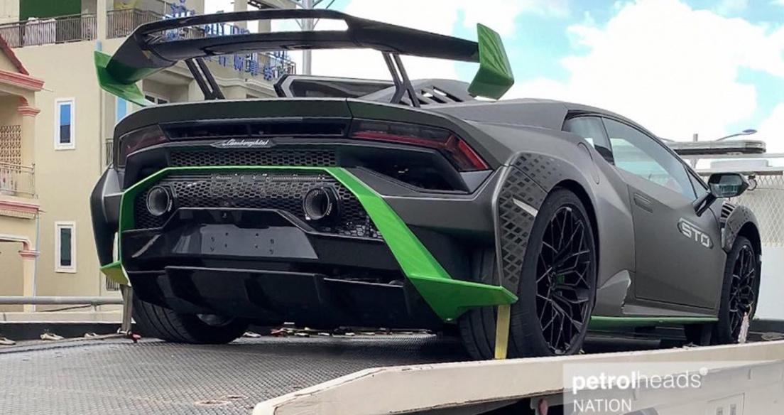 Siêu phẩm Lamborghini Huracan STO xuất hiện tại Campuchia