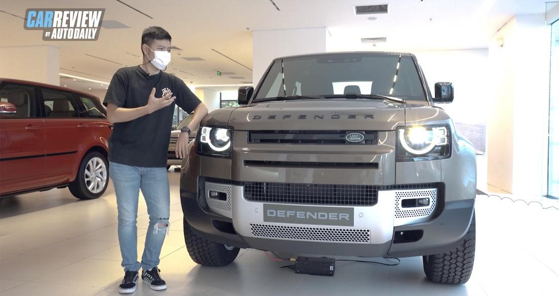 8 ĐIỂM CỰC CHẤT trên Land Rover Defender 90 giá từ hơn 3,9 tỷ đồng