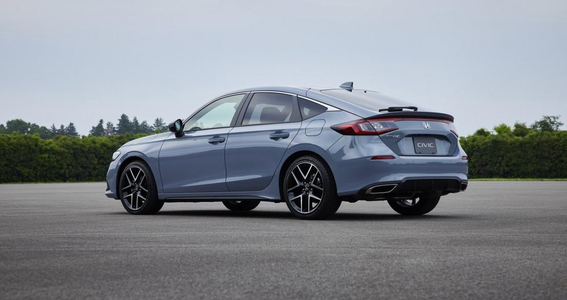 Honda Civic Hatchback 2022: Sự kết hợp của tính thực dụng với động cơ Turbo và hộp số sàn 6 cấp