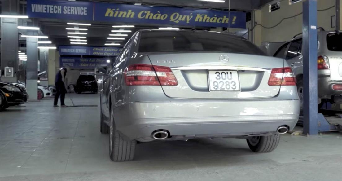 GIẬT MÌNH với chi phí bảo dưỡng Mercedes-Benz E300