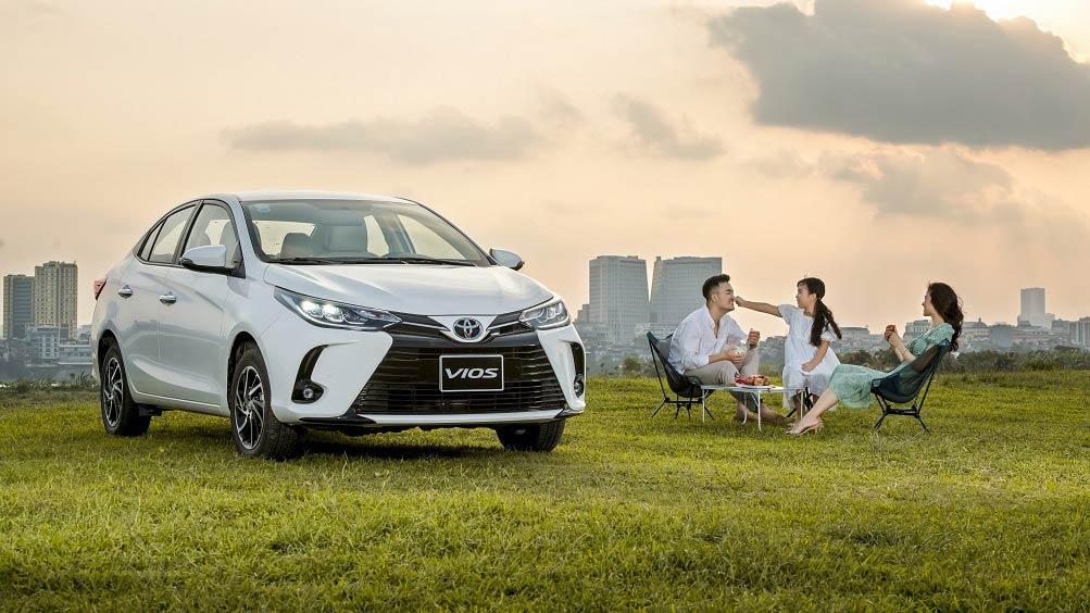 Tháng 7: Mua xe Toyota Vios được nhận ưu đãi lên đến 30 triệu đồng