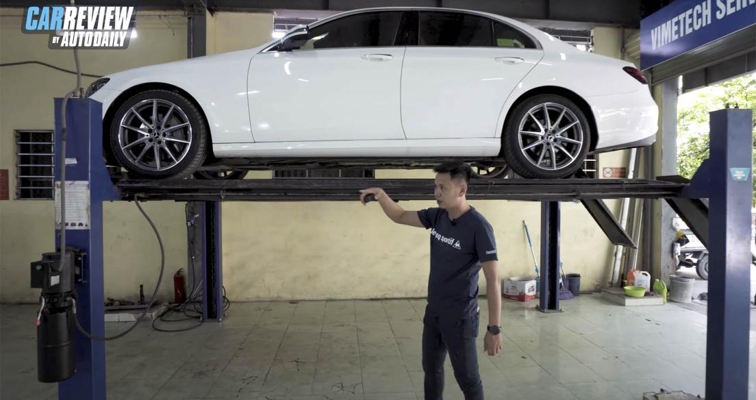Soi chi tiết gầm Mercedes E300 AMG 2021 - Lý do xe Đức chạy PHÊ