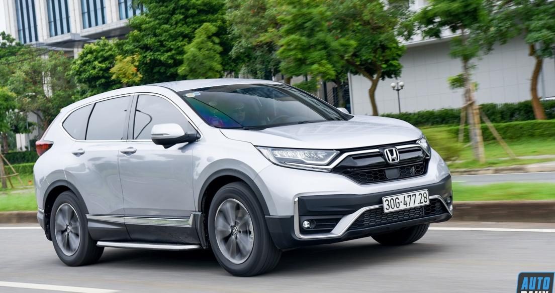 Tháng 7/2021: Mua Honda CR-V được hỗ trợ 100% lệ phí trước bạ