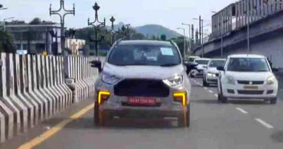 Ford EcoSport 2021 lộ diện trên đường thử