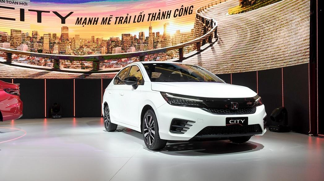Tháng 6/2021: Doanh số ô tô Honda tăng trưởng nhẹ, City đắt khách nhất