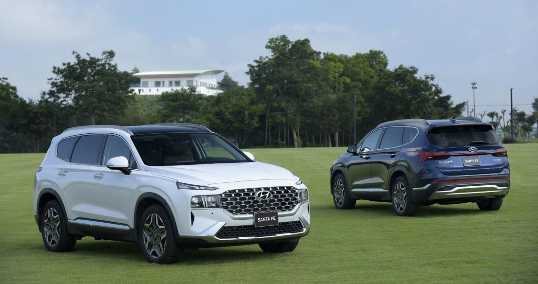 Tháng 6/2021: Hyundai Santa Fe bùng nổ với doanh số hơn 1.300 xe