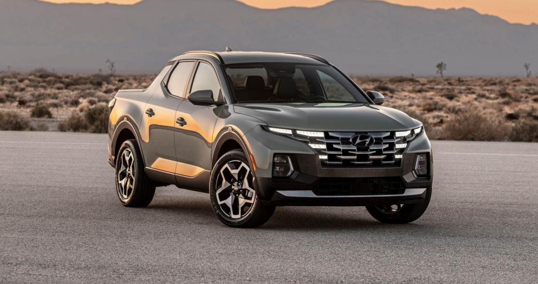 Hyundai Santa Cruz 2022 chốt giá từ 23.990 USD