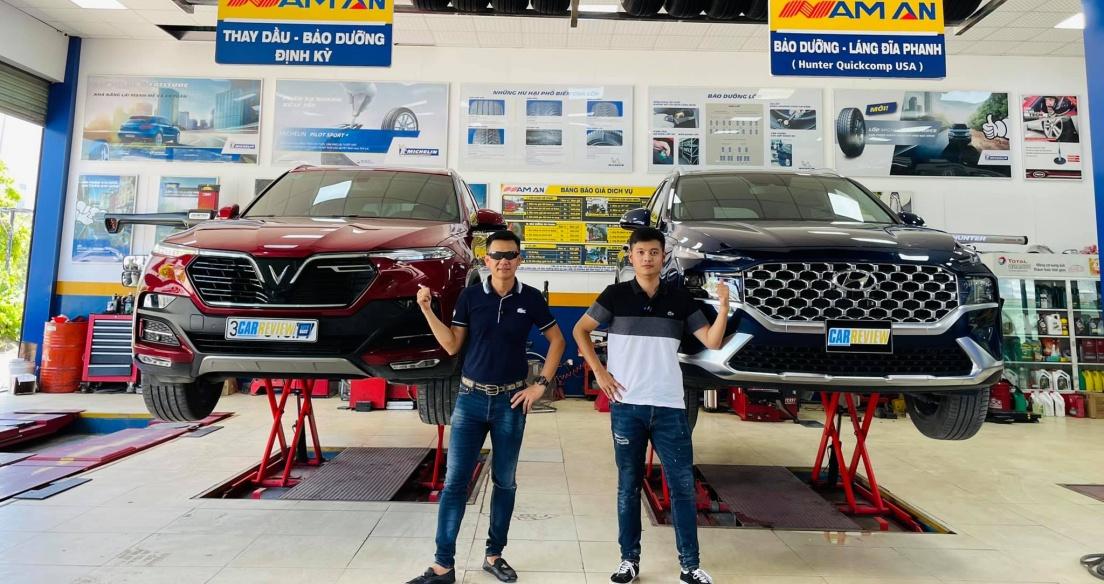 So sánh Vinfast Lux SA 2.0 - Hyundai Santafe 2021: 1,5 tỉ lăn bánh chọn xe nào?
