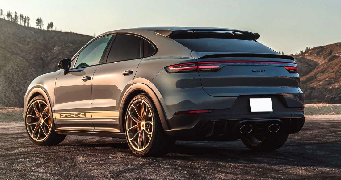 Bộ ảnh chi tiết Porsche Cayenne Turbo GT 2022 giá 12,25 tỷ đồng