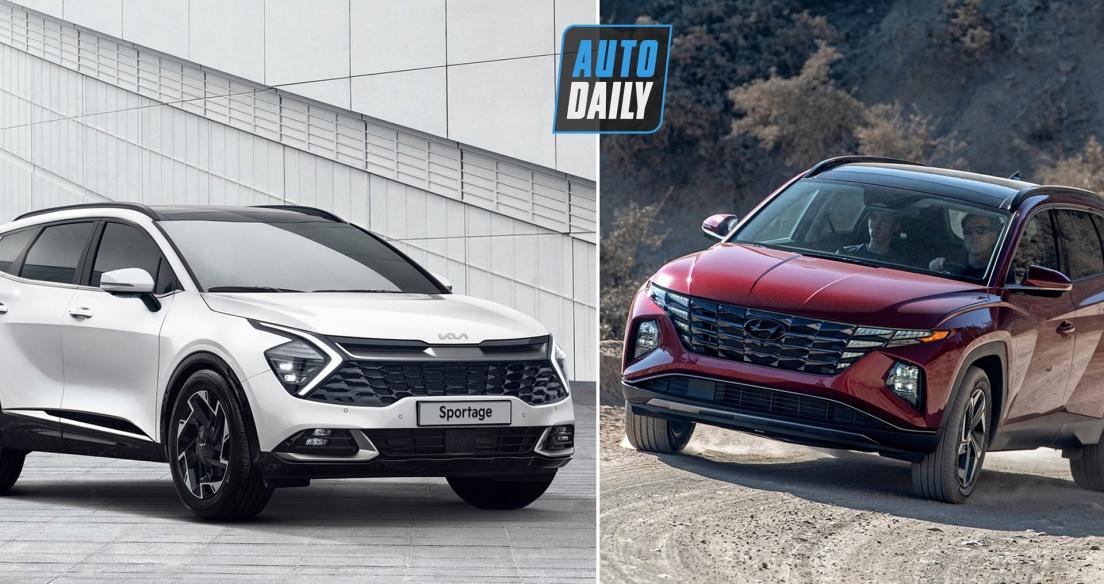 Kia Sportage 2022 vs Hyundai Tucson 2022: SUV Hàn đại chiến, chờ về Việt Nam