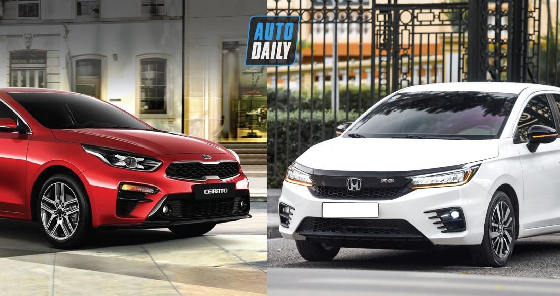 Tầm giá 600 triệu đồng, chọn Kia Cerato Luxury hay Honda City RS?