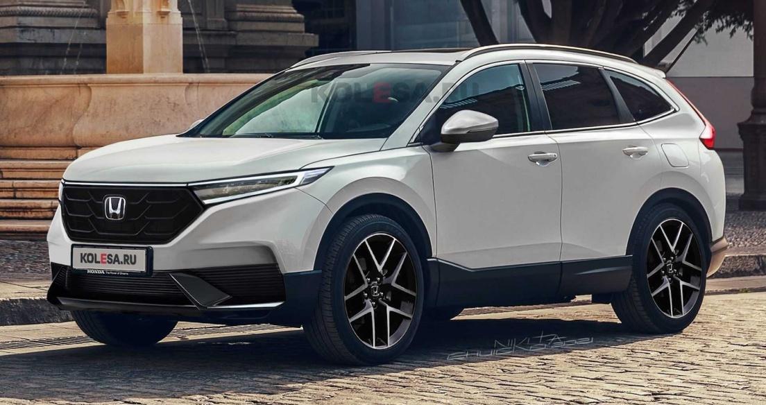 Ảnh phác họa thiết kế Honda CR-V 2023 thế hệ mới: Đẹp, hiện đại, đe dọa Mazda CX-5