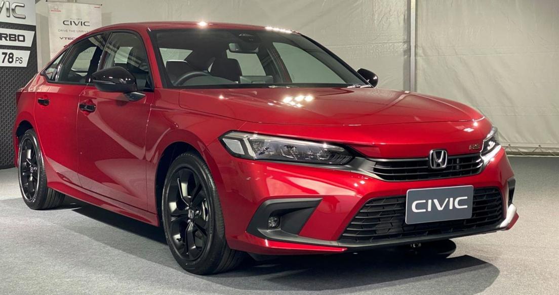 Honda Civic 2022 ra mắt tại Thái Lan giá từ 29.110 USD, chờ ngày về Việt Nam