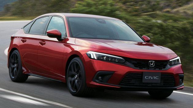 Honda Civic Hatchback 2022 có giá quy đổi từ 666 triệu đồng tại Nhật Bản
