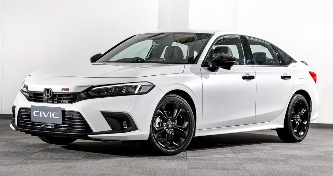Bộ ảnh chi tiết Honda Civic 2022 giá từ 29.110 USD vừa ra mắt tại Thái Lan