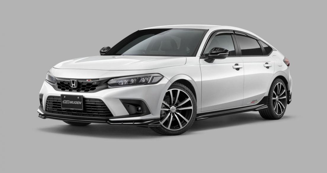 Honda Civic 2022 hầm hố hơn với gói phụ kiện thể thao Mugen