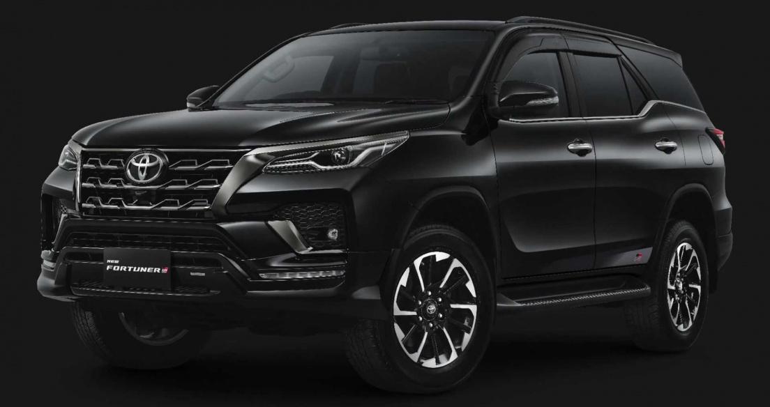 Toyota Fortuner GR Sport 2021 ra mắt, thay cho bản TRD Sport trước đó