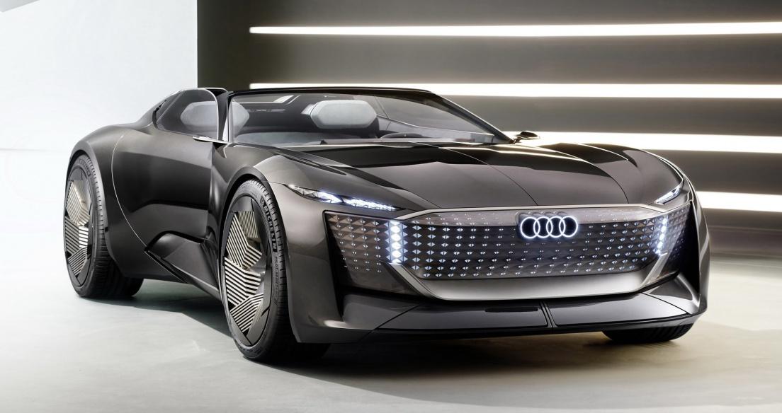 Audi Skysphere Concept: Mẫu xe điện có thể 'biến hình' trong một nốt nhạc
