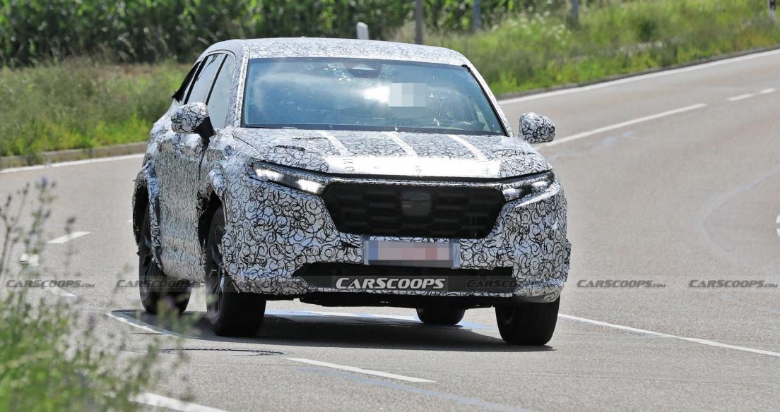 Honda CR-V 2023 lộ diện trên đường thử: Cao lớn và trưởng thành hơn