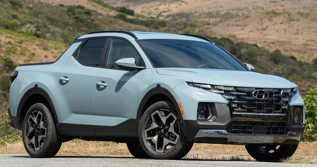 "Hyundai Santa Cruz 2022 - ""Thách đấu"" Ford Ranger?"